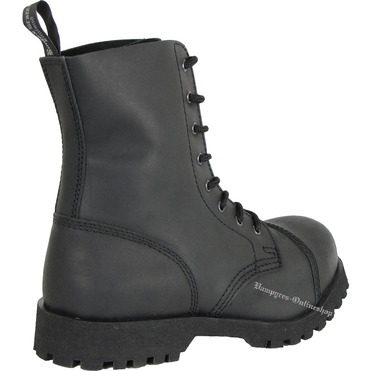 Boots  Braces - easy 8 Loch Vegetarian Black Stiefel Rangers Schwarz