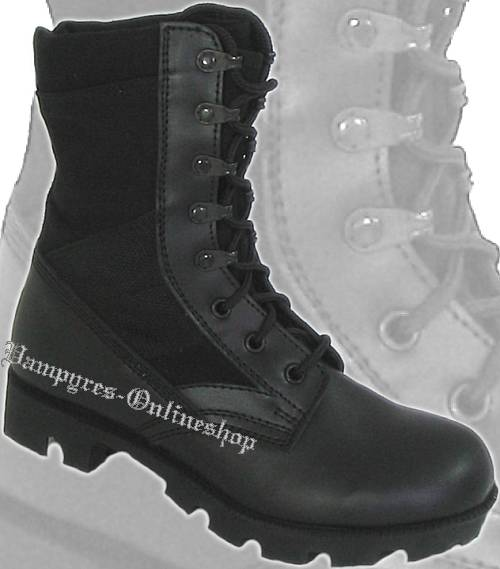 mmb us dschungel boots schwarz army jungle stiefel vampyres onlineshop. Black Bedroom Furniture Sets. Home Design Ideas