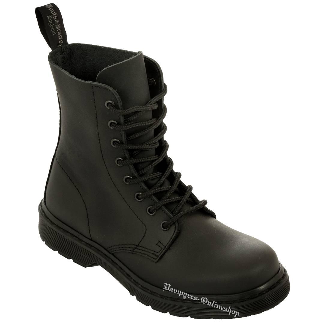 Boots & Braces 14 Loch schwarz